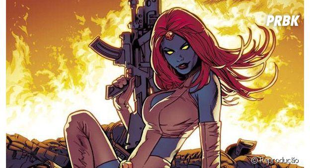 A Mística, dos X-Men, teve uma grande paixão por uma mulher nos quadrinhos