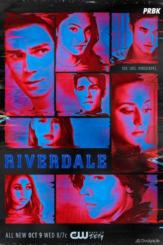 """""""Riverdale"""": novo pôster da 4ª temporada faz referência a filme dos anos 80"""
