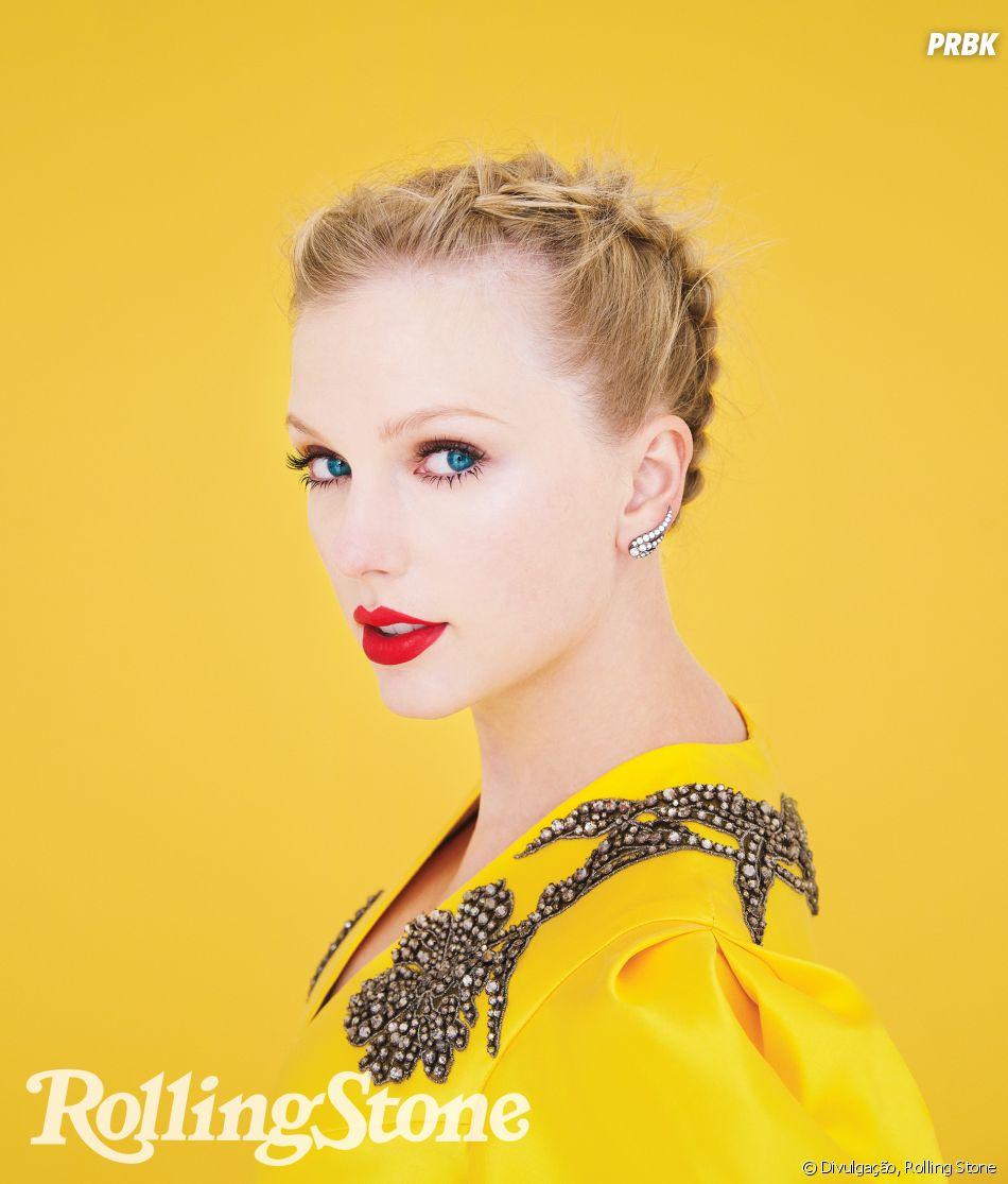 Taylor Swift na Rolling Stone: cantora diz que Kanye West é falso