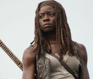 "Danai Gurira já gravou a última cena de Michonne em ""The Walking Dead"""