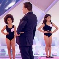 Após concurso de miss infantil, SBT é notificado pela Justiça e terá 30 dias para se explicar