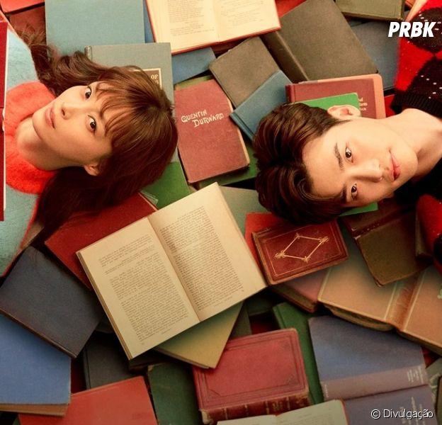"""""""Romance is a Bonus Book"""" é um dorama disponível na Netflix"""