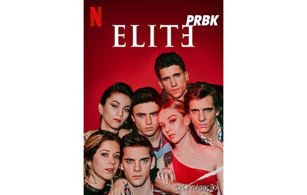 """""""Elite"""": casais da série estão juntos nos pôsteres de divulgação"""