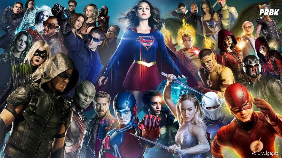 """Estão preparados para o crossover """"Crise nas Infinitas Terras""""?"""