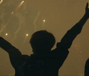 """O B-Army está em festa depois de ver várias cenas do show do BTS no Brasil no MV de """"Make it Right"""""""