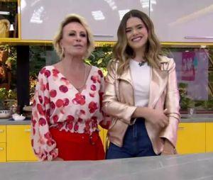 """Maisa Silva participa do """"Mais Você"""" e toma café com Ana Maria Braga!"""