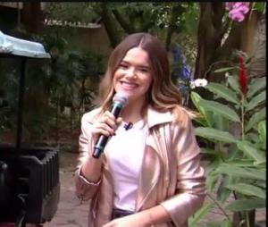 """Maisa Silva participa do """"Mais Você"""" e fala até de amizade com Silvio Santos"""