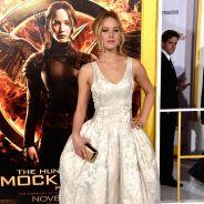 """Jennifer Lawrence e elenco de """"Jogos Vorazes"""" arrasam em première do filme"""