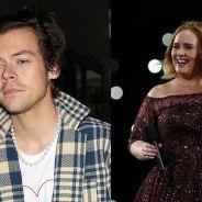 Harry Styles e Adele podem fazer parceria e isso é tudo que podemos esperar
