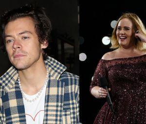 Harry Styles e Adele estão no mesmo lugar e já estamos pensando no feat!