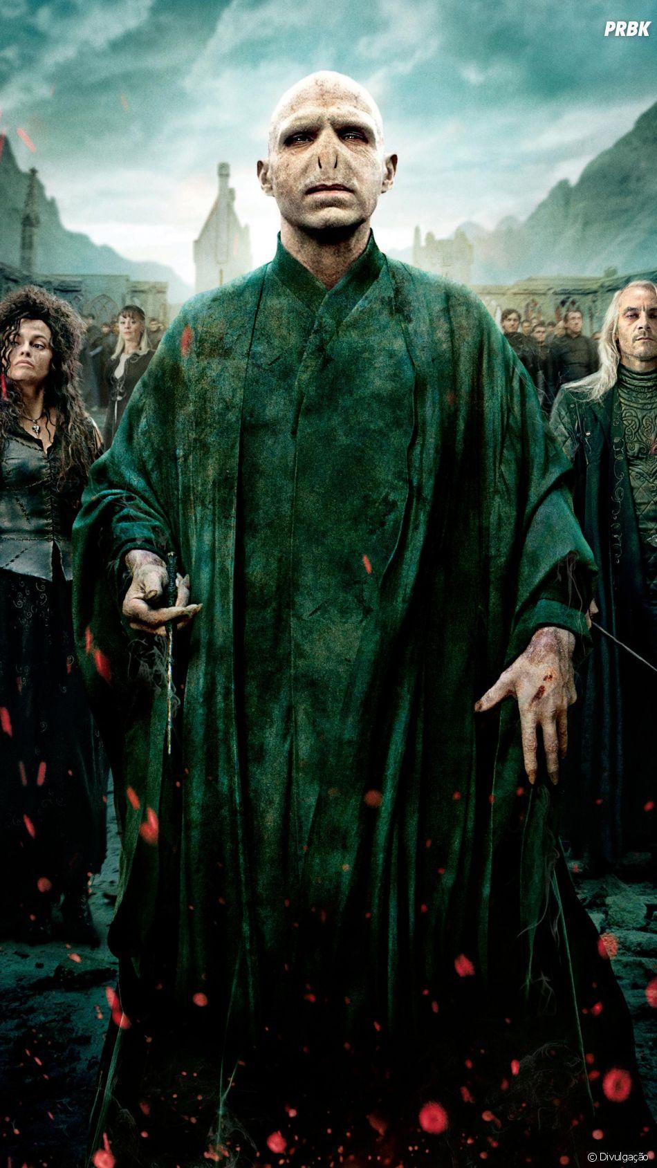 """""""Harry Potter"""": último filme marcou a derrota do vilão Voldemort (Ralph Fiennes)"""