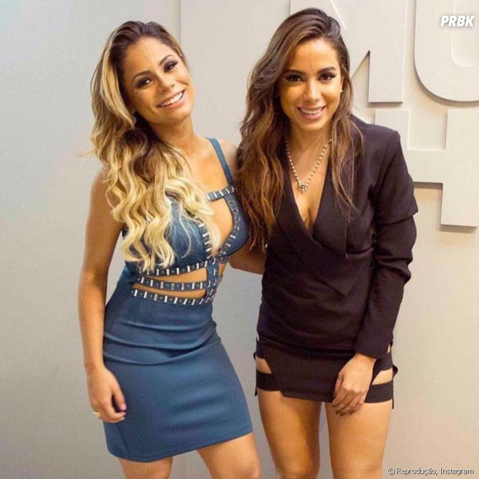 """Lexa e Anitta ficaram bem próximas após a colaboração que fizeram juntas em """"Combatchy"""""""