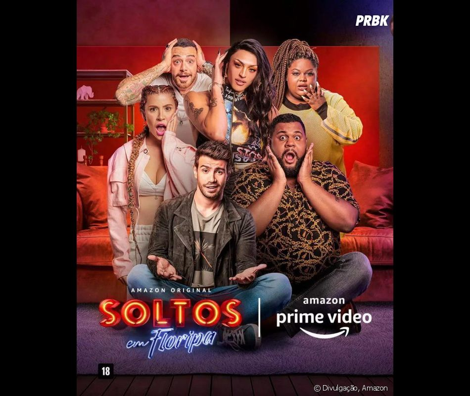 """""""Soltos em Floripa"""": seis celebridades são escolhidas para comentar o novo reality show da Amazon"""