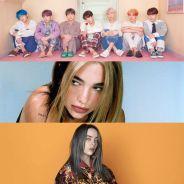 """BTS, Dua Lipa e Billie Eilish estarão em especial de quarentena do """"The Late Late Show"""". Saiba mais"""