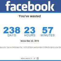 No Facebook: aplicação calcula quanto tempo você já gastou na rede social!