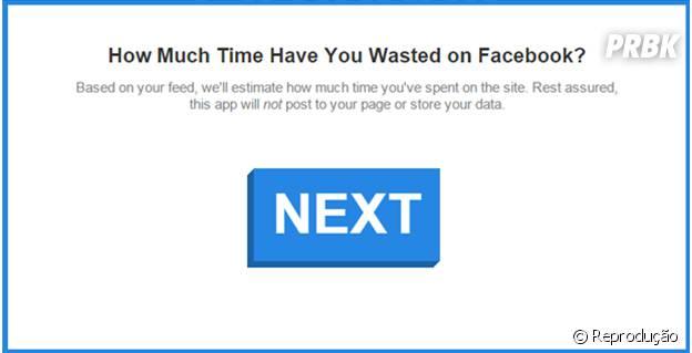 Facebook Time Calculator diz quanto tempo você passou no Facebook