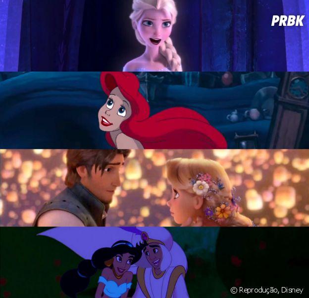 Monte o ranking das melhores músicas da Disney