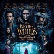 """Johnny Depp aparece em novo cartaz do filme """"Caminhos da Floresta""""!"""