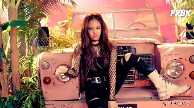 """BLACKPINK: relembre visual da Jennie na era """"Boombayah"""""""