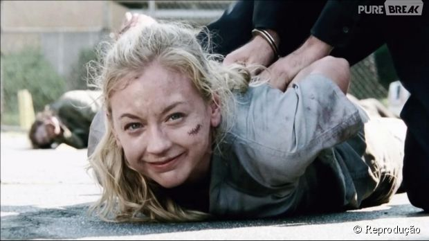 "Emily Kinney comenta a morte de Beth em ""The Walking Dead"""