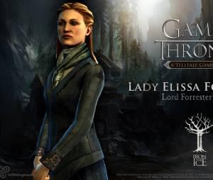 """Lady Elissa Forrester é a esposa do senhor da Casa no jogo """"Game of Thrones"""""""