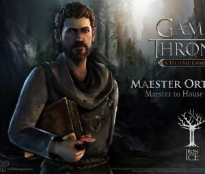 "Maester Ortengryn é o mestre conselheiro da Casa Forrester no jogo ""Game of Thrones"""
