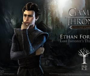"""Ethan Forrester é o terceiro filho da família no jogo """"Game of Thrones"""""""