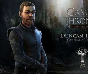 "Duncan Tuttle é o governador de Ironrath no jogo ""Game of Thrones"""
