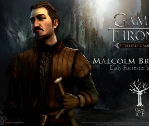 """Malcolm Branfield é cunhado do Lord Forrester no jogo """"Game of Thrones"""""""