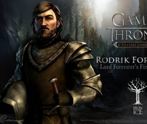 """Rodrik Forrester é o primogênito da Casa Forrester no jogo """"Game of Thrones"""""""