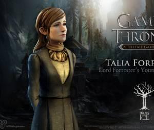 """Talia Forrester é a caçulinha do castelo no jogo """"Game of Thrones"""""""