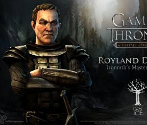 """Royland Degore é quem sabe tudo de lutas e batalhas em Ironrath no jogo """"Game of Thrones"""""""