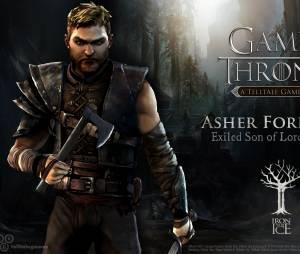 """Asher Forrester é um dos filhos de Lady e Lord Forrester que se exilou da família no jogo """"Game of Thrones"""""""