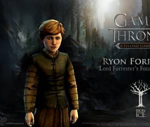 """Ryon Forrester é o quarto filho do casal no jogo """"Game of Thrones"""""""