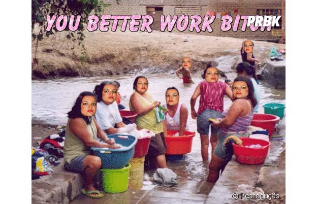 "Britney Spears e o hit ""Work Bitch"""