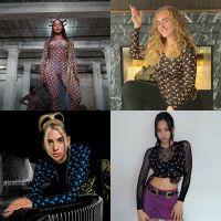 Você reparou que estas famosas estão usando a mesma estampa de roupa?