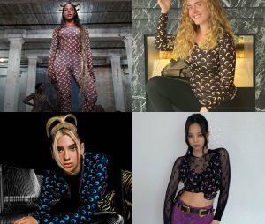 Beyoncé, Adele, Dua Lipa, Jennie e mais famosas estão usando a mesma estampa de roupa