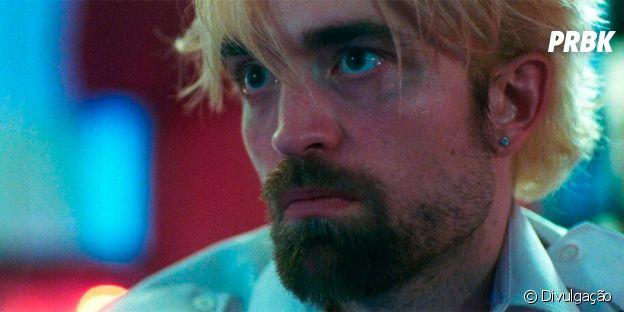 """Robert Pattinson apareceu com visual super diferente como Connie em """"Bom Comportamento"""", de 2017"""