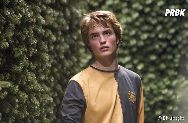 """Robert Pattinson foi Cedrico Diggory em """"Harry Potter e o Cálice de Fogo"""" em 2005"""