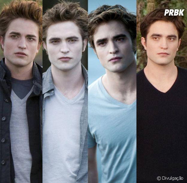 """Robert Pattinson foi Edward, o protagonista dos filmes da """"Saga Crepúsculo"""", que durou de 2008 a 2012"""