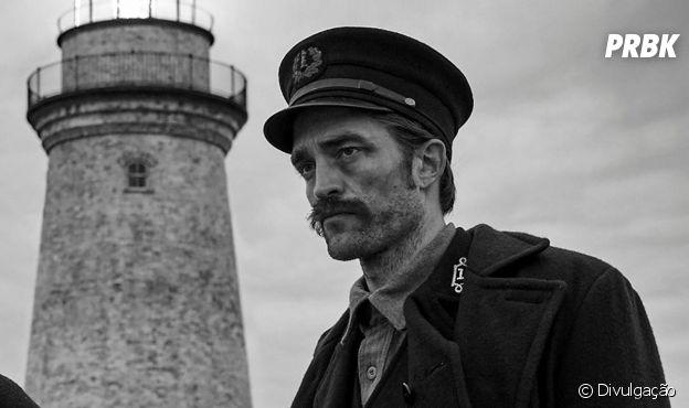 """Robert Pattinson é Thomas em """"O Farol"""", de 2019"""