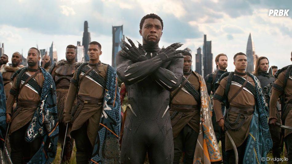 "Chadwick Boseman ficou conhecido como o Rei T'Challa, de ""Pantera Negra"""