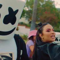 """No Dia Mundial de Prevenção do Suicídio, Demi Lovato e Marshmello lançam """"OK Not To Be OK"""". Ouça!"""