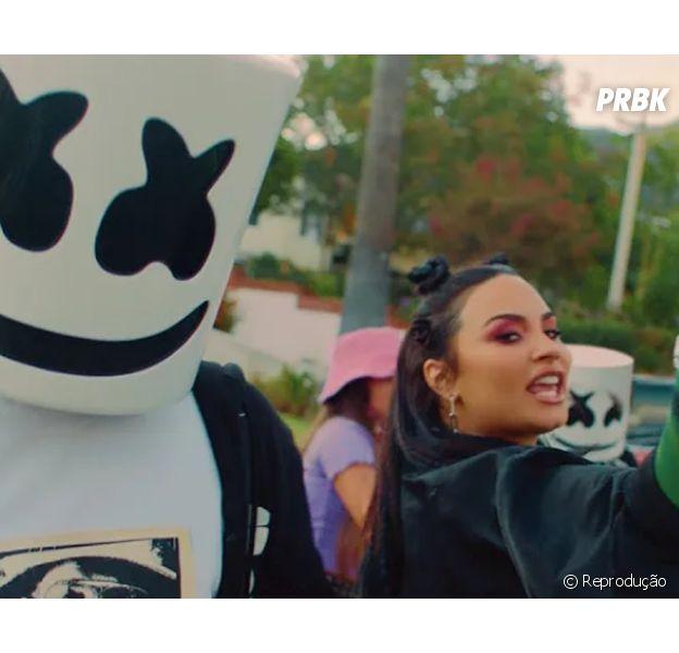 """""""Ok Not To Be Ok"""": Demi Lovato e Marshmello lançam música sobre saúde mental"""