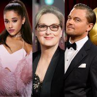 Ariana Grande, Meryl Streep e Leonardo DiCaprio estarão juntos em novo filme da Netflix