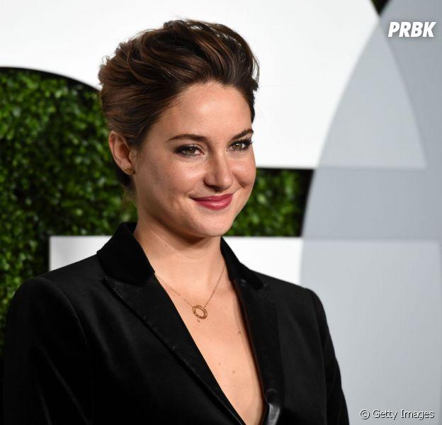 """Shailene Woodley, de """"Divergente"""" e """"A Culpa é das Estrelas"""", gostaria de papel em filmes da Marvel"""