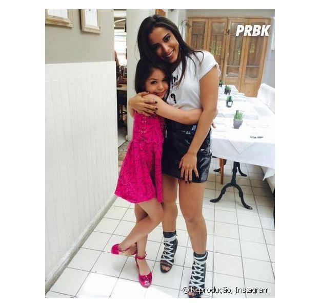 Anitta se envolve em polêmica com pai de Melody