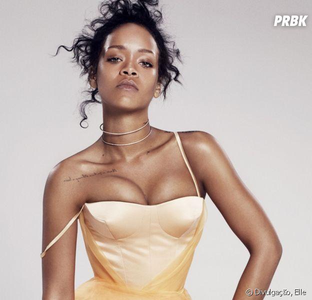 Rihanna ainda falou sobre sua vida pessoal e entre quatro paredes