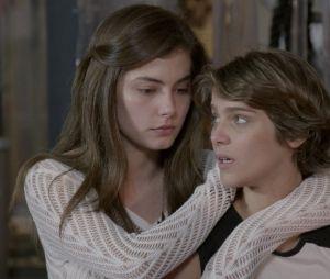 """""""Malhação: Sonhos"""": Karina (Isabella Santoni) e Bianca (Bruna Hamu) são irmãs"""