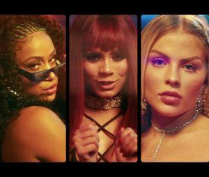 "Anitta também reuniu MC Rebecca, Lexa e Luísa Sonza no hit ""Combatchy"""